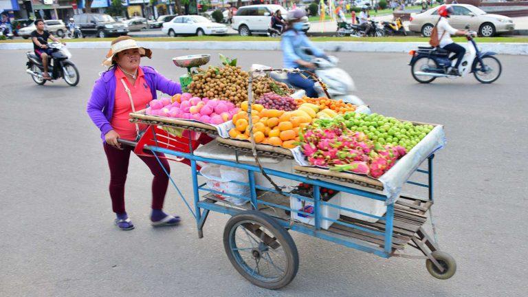 straatverkoper phnom penh